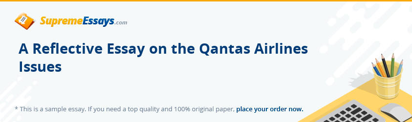 qantas tangible and intangible resources