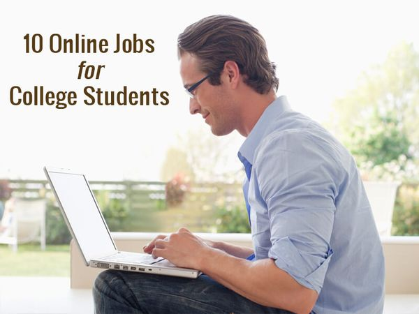10 Online Jobs for College Students